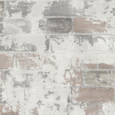 Galerie Rustic Brick Natural Wallpaper - Product code: G67989