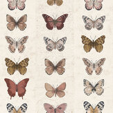 Galerie Butterfly Wall Brick Wallpaper - Product code: G67992