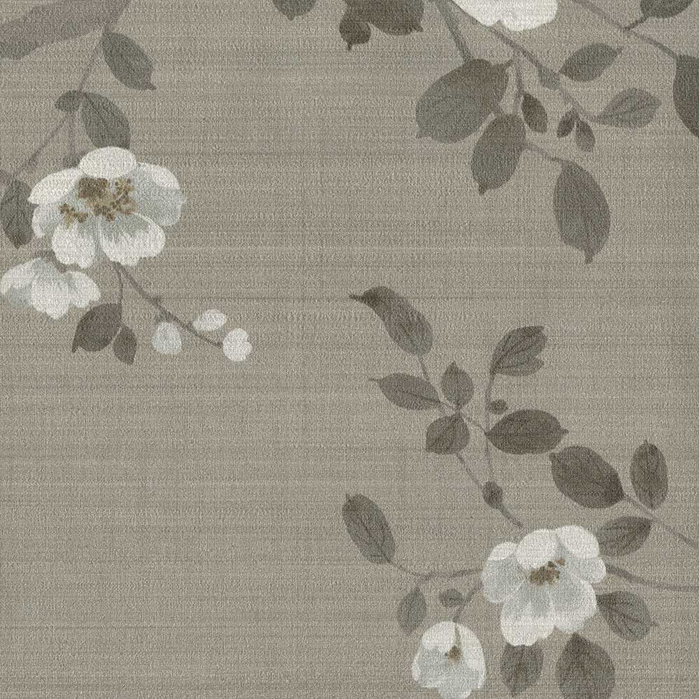 Oriental Blossom Mural - Gold - by SketchTwenty 3