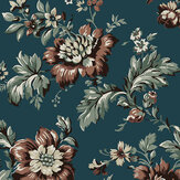 Sandberg Rosenholm Midnight Blue Wallpaper - Product code: 407-86