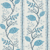 Nina Campbell Pomegranate Trail Indigo/ Blue Wallpaper - Product code: NCW4390-01