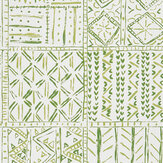 Nina Campbell Cloisters Green Wallpaper - Product code: NCW4391-03