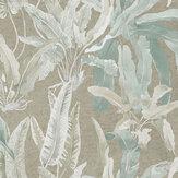 Nina Campbell Benmore Eau de Nil/ Gilver Wallpaper - Product code: NCW4393-04