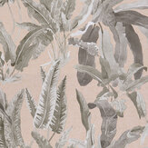 Nina Campbell Benmore Blush/ Grey Wallpaper - Product code: NCW4393-06