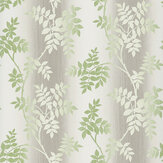 Nina Campbell Posingford Grey/ Green Wallpaper - Product code: NCW4394-05