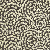 Nina Campbell Kingsley Ebony/ Gold Wallpaper - Product code: NCW4395-02