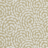Nina Campbell Kingsley Gold/ Ivory Wallpaper - Product code: NCW4395-03