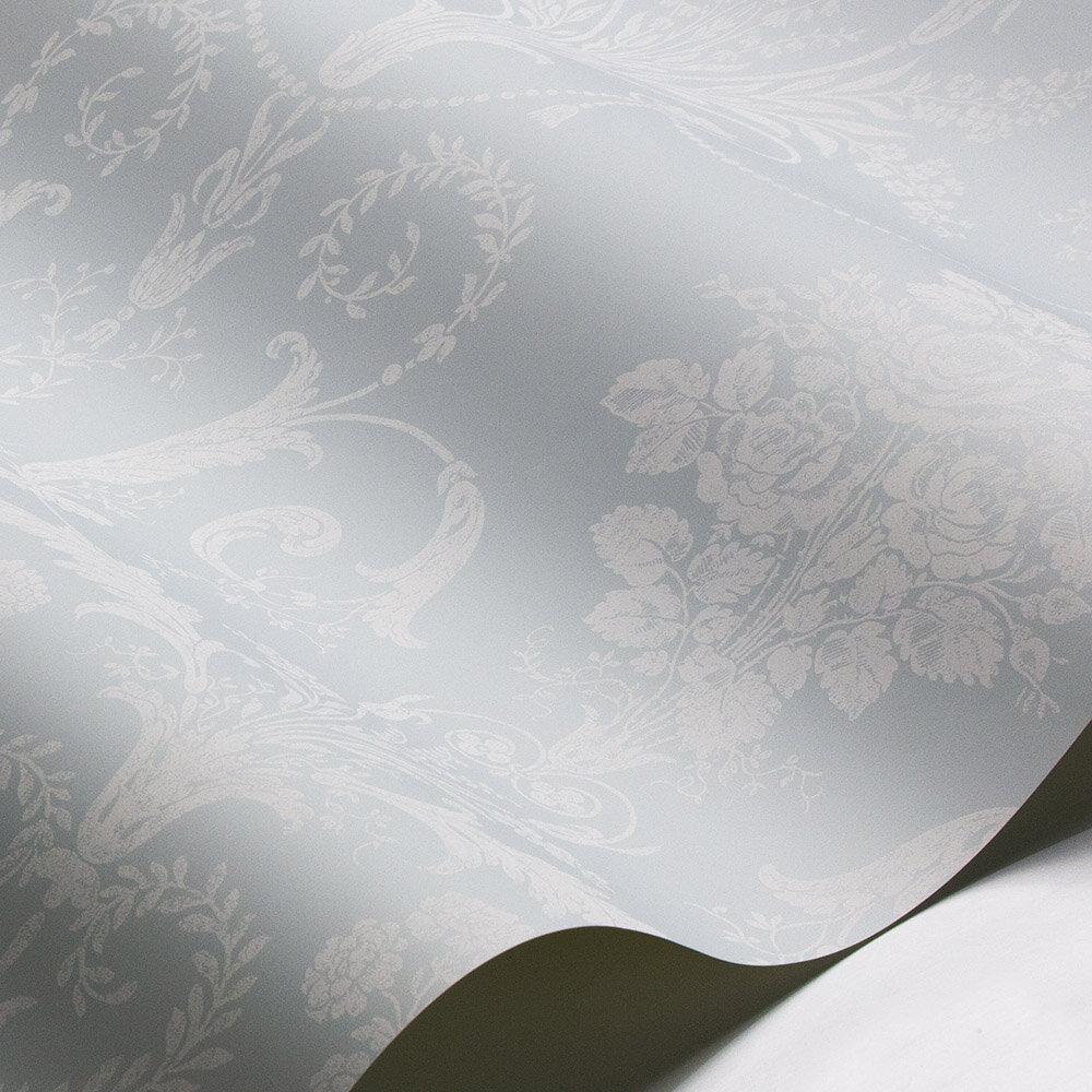 Laura Ashley Josette  Duck Egg Wallpaper - Product code: 3547803