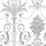 Laura Ashley Josette  Charcoal Wallpaper - Product code: 3547806