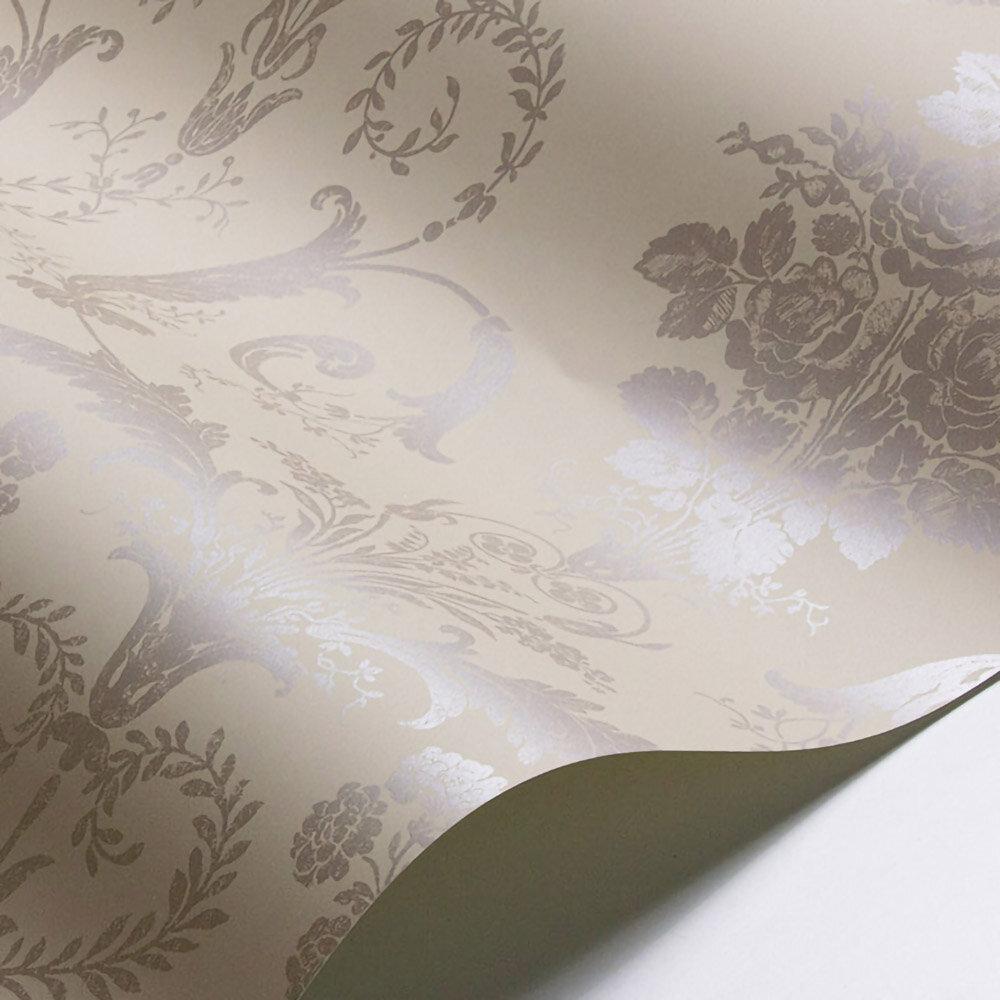 Laura Ashley Josette  Truffle Wallpaper - Product code: 3568671