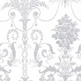 Laura Ashley Josette  Silver Wallpaper - Product code: 3568680
