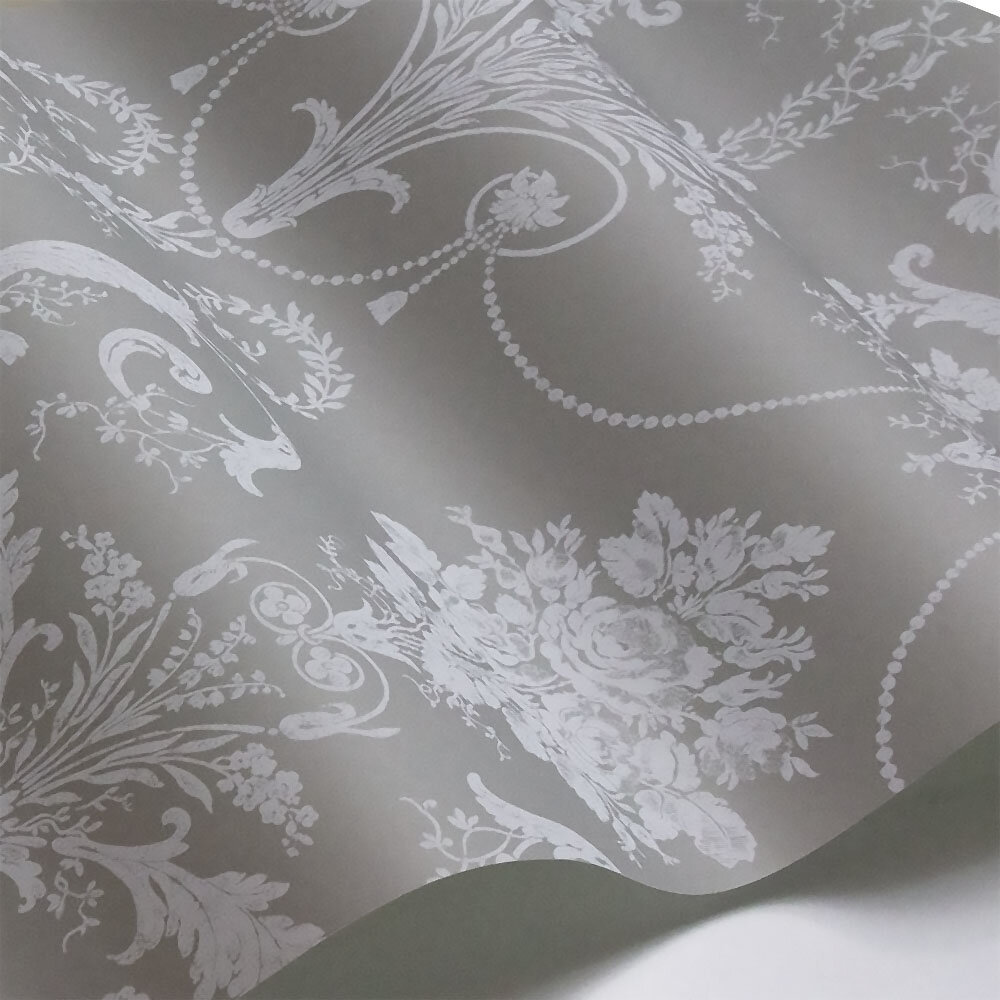 Laura Ashley Josette  Steel Wallpaper - Product code: 3668910