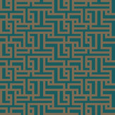 Graham & Brown Zen Teal Wallpaper - Product code: 103516
