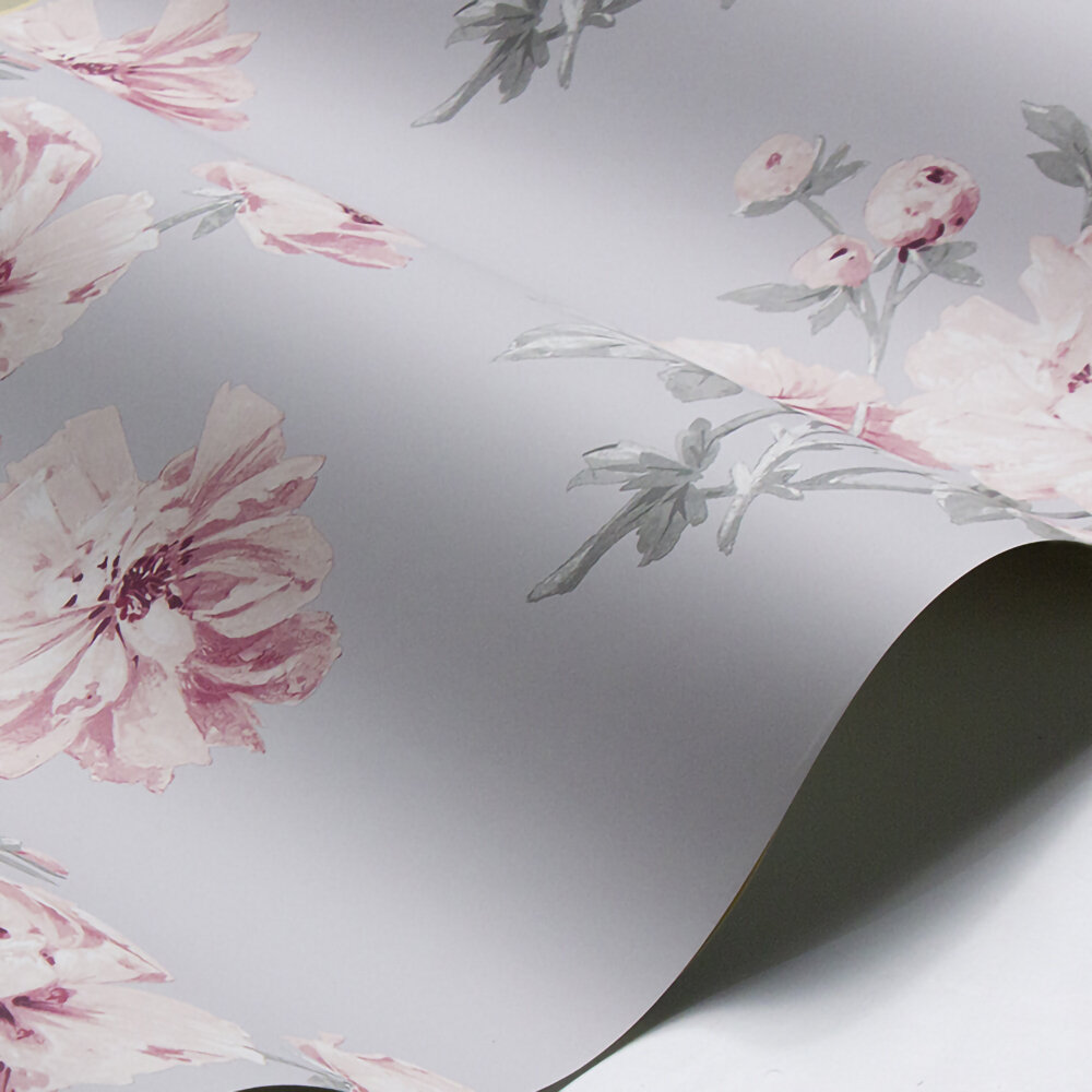 Laura Ashley Beatrice  Cyclamen Wallpaper - Product code: 3635708