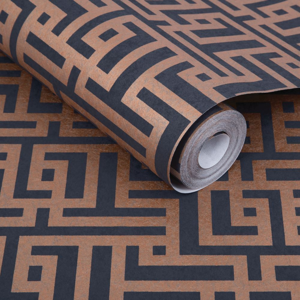 Graham & Brown Zen Charcoal Wallpaper - Product code: 103518