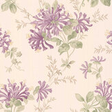 Laura Ashley Honeysuckle Trail Grape Wallpaper - Product code: 3635735