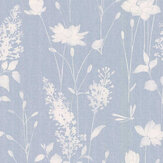 Laura Ashley Dragonfly Garden Chalk Blue Wallpaper - Product code: 3677839