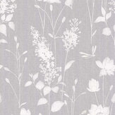 Laura Ashley Dragonfly Garden Steel Wallpaper - Product code: 3702981