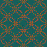 Graham & Brown Eternity Teal Wallpaper - Product code: 104068