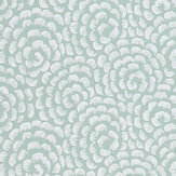 Nina Campbell Kingsley Duck Egg/ Ivory Wallpaper - Product code: NCW4395-06
