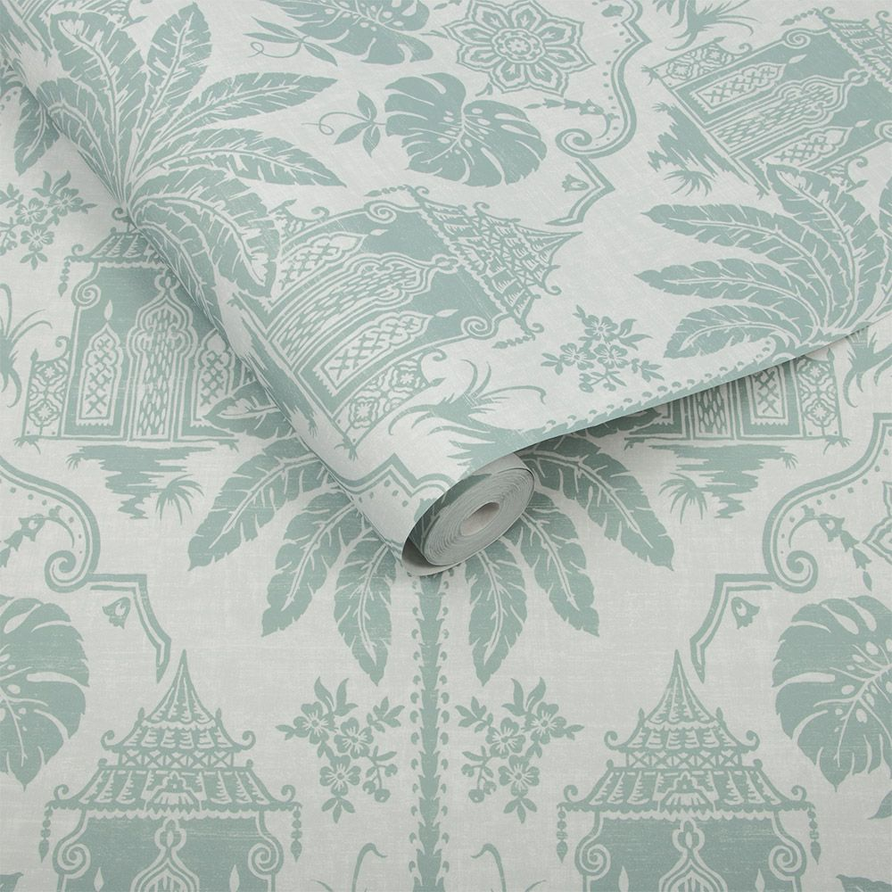 Graham & Brown Imperial Green Wallpaper - Product code: 104554