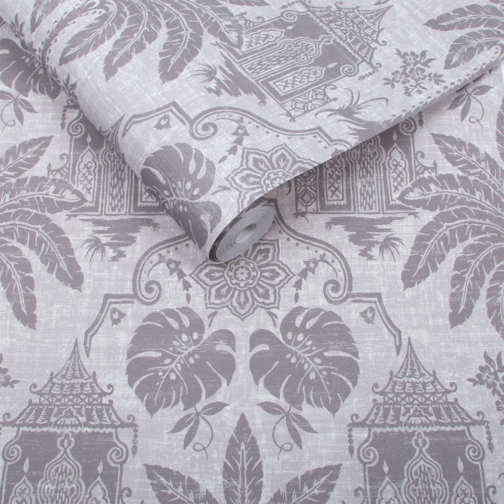 Graham & Brown Imperial Grey Wallpaper - Product code: 104555