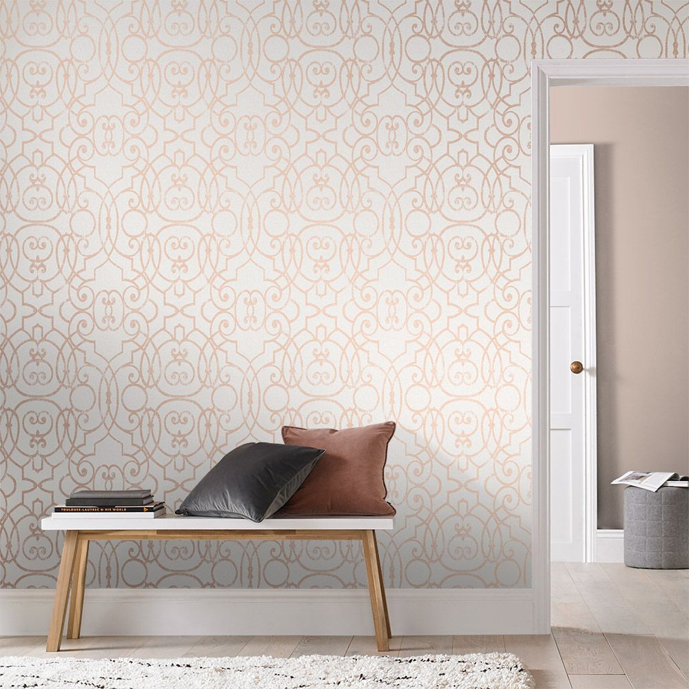 Shoji Wallpaper - Blossom - by Graham & Brown