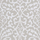 Nina Campbell Brideshead Grey Wallpaper - Product code: NCW4396-01