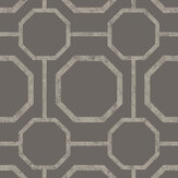 Graham & Brown Sashiko Greige Wallpaper - Product code: 105771