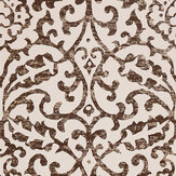 Nina Campbell Brideshead Charcoal/ Ivory Wallpaper - Product code: NCW4396-04