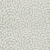 Nina Campbell Kingsley  Silver/ Ivory Wallpaper - Product code: NCW4395-04