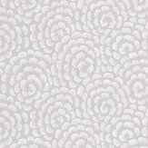 Nina Campbell Kingsley Dove Grey/ Ivory Wallpaper - Product code: NCW4395-05