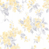 Laura Ashley Apple Blossom Off White / Pale Sunshine Wallpaper - Product code: 3725984