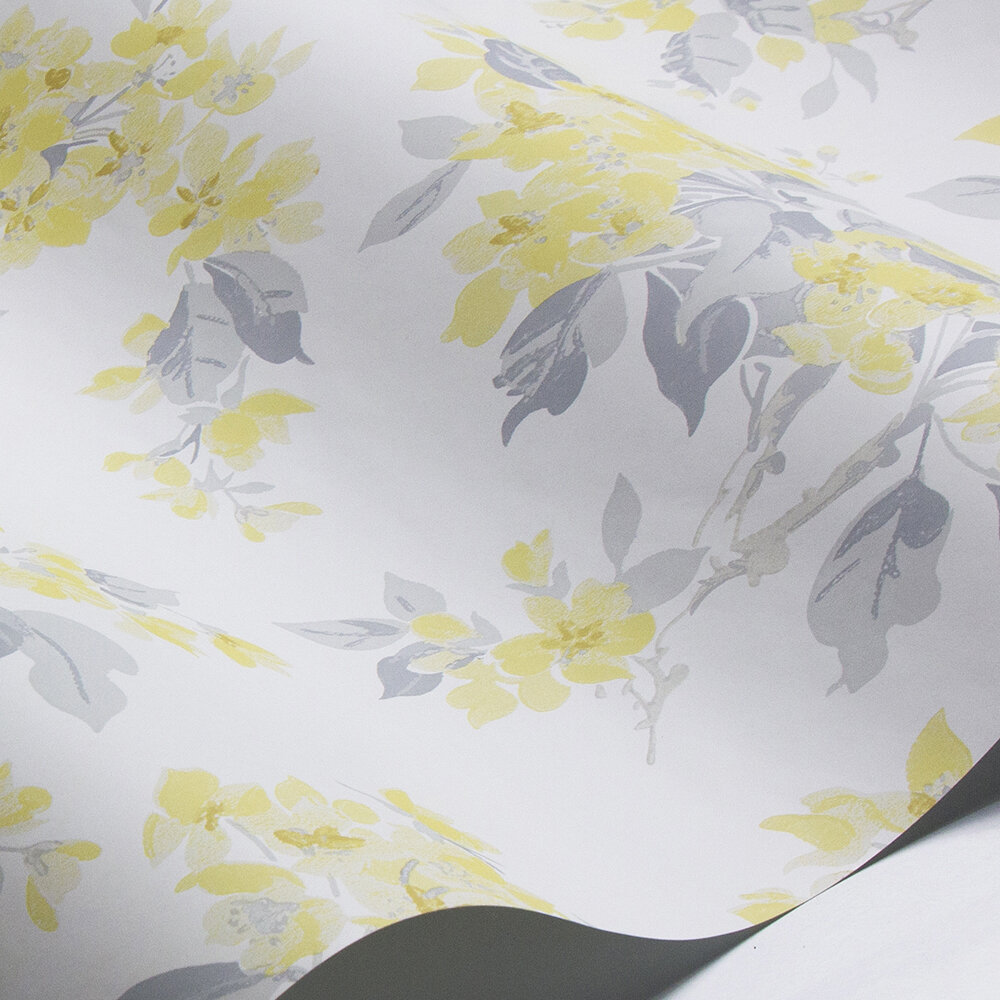 Laura Ashley Apple Blossom Off White / Pale Sunshine Wallpaper - Product code: 3725984