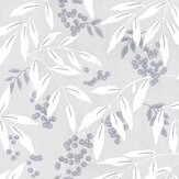 Laura Ashley Greendale Silver Wallpaper - Product code: 3725994
