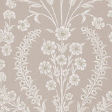 Nina Campbell Chelwood  Dove Grey Wallpaper - Product code: NCW4392-03