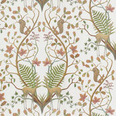 The Chateau by Angel Strawbridge Woodland Trail Fabric Cream - Product code: WON/TRL/14000FA