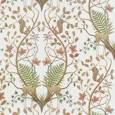 The Chateau by Angel Strawbridge Woodland Trail Fabric Cream - Product code: WON/TRL/14000FA