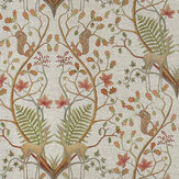 The Chateau by Angel Strawbridge Woodland Trail Fabric Linen - Product code: WOC/TRL/14000FA
