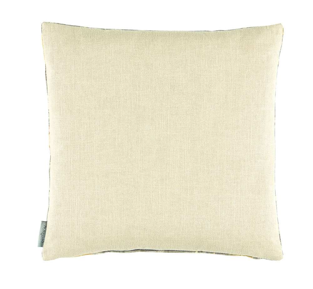 Fruit Velvet Cushion - Walnut/ Brush - by Morris