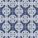 Graham & Brown Asian Lattice Sky Wallpaper - Product code: 105779