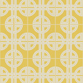 Graham & Brown Asian Lattice Saffron Wallpaper - Product code: 105781