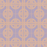 Graham & Brown Asian Lattice Blush Wallpaper - Product code: 105782