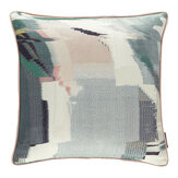 Harlequin Perspective Cushion Emerald / Peony  - Product code: HM1Z152347C