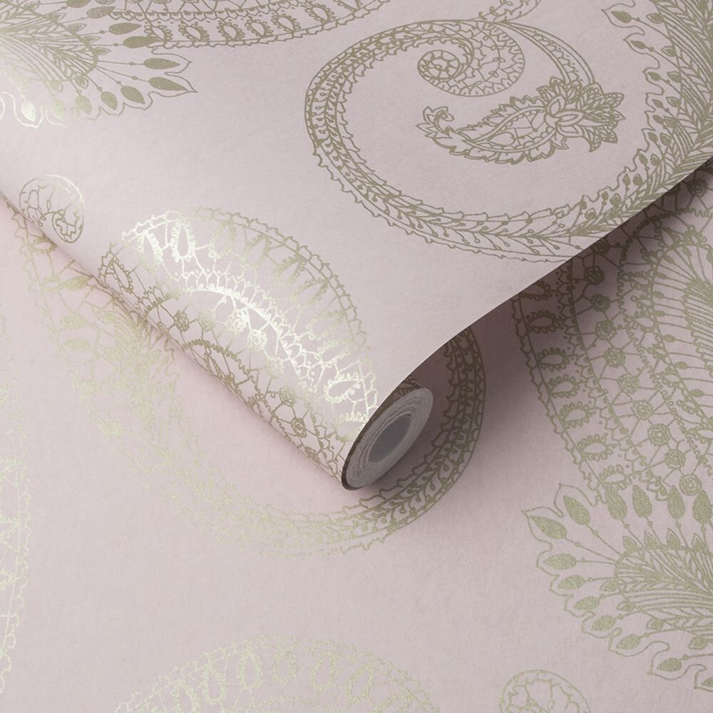 Graham & Brown Boteh Blush Wallpaper - Product code: 105923