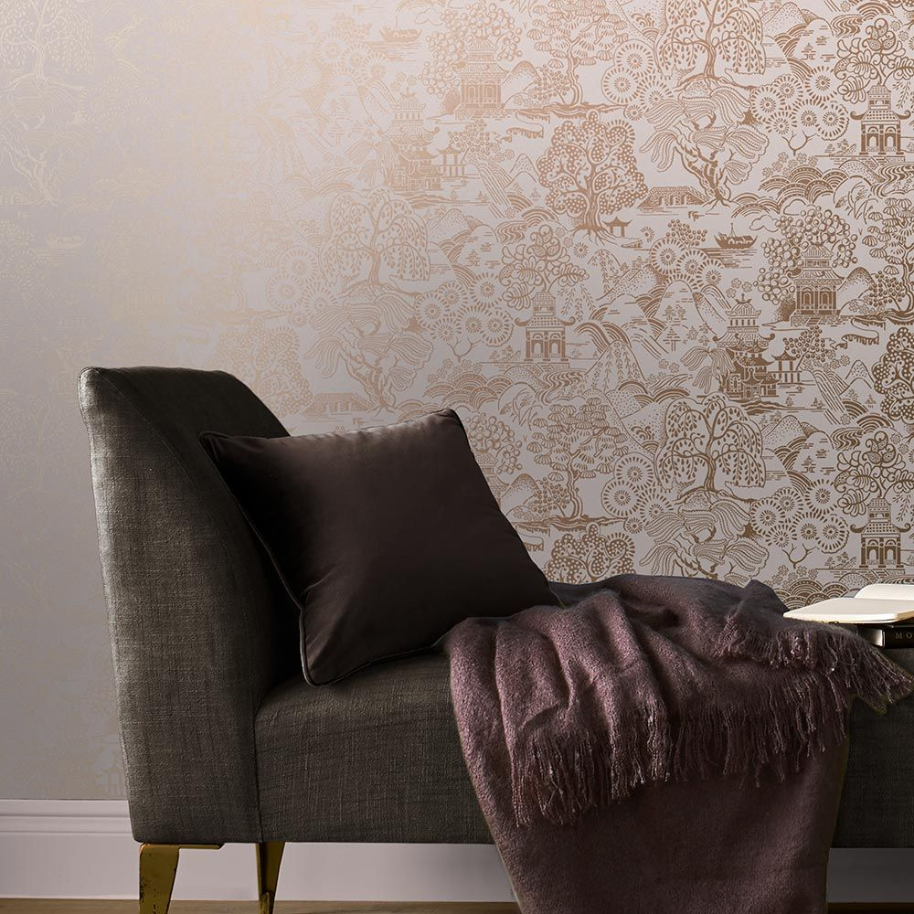 Graham & Brown Basuto Pink Wallpaper - Product code: 105930