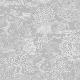 Graham & Brown Basuto Grey Wallpaper - Product code: 105931