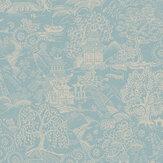 Graham & Brown Basuto Duck Egg Wallpaper - Product code: 105933