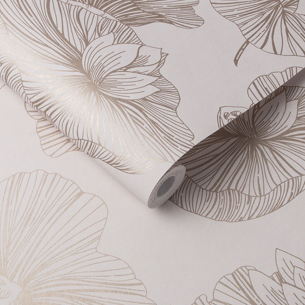 Graham & Brown Lotus Blush Wallpaper - Product code: 105935