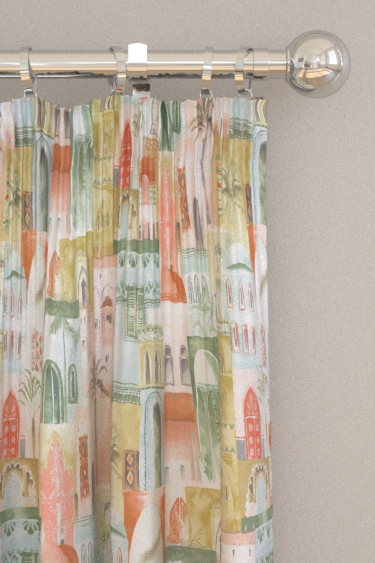 Clarke & Clarke Marrakech Apple Curtains - Product code: F1368-01